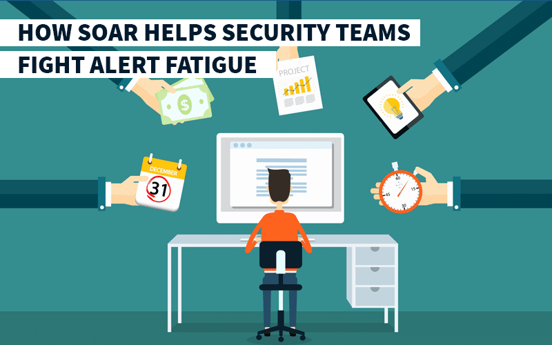 How SOAR Helps Security Teams Fight Alert Fatigue