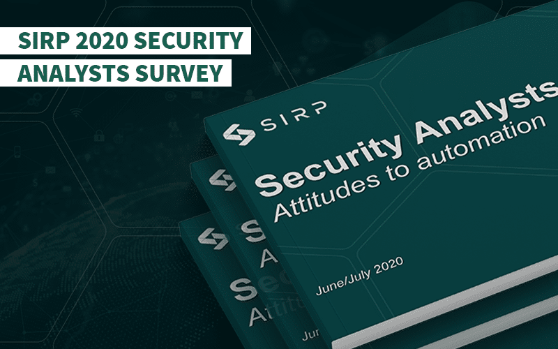 SIRP 2020 Security Analysts Survey